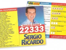 Santinho_Politico_Sergio-Ricardo